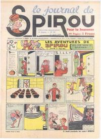 Cover Thumbnail for Le Journal de Spirou (Dupuis, 1938 series) #33/1939