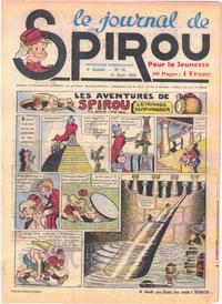 Cover Thumbnail for Le Journal de Spirou (Dupuis, 1938 series) #35/1939