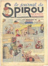 Cover Thumbnail for Le Journal de Spirou (Dupuis, 1938 series) #36/1939