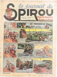 Cover Thumbnail for Le Journal de Spirou (Dupuis, 1938 series) #37/1939