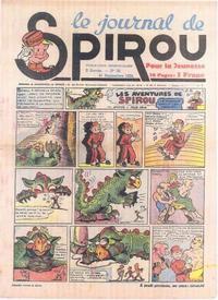 Cover Thumbnail for Le Journal de Spirou (Dupuis, 1938 series) #38/1939