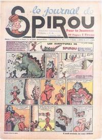 Cover Thumbnail for Le Journal de Spirou (Dupuis, 1938 series) #40/1939