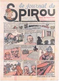 Cover Thumbnail for Le Journal de Spirou (Dupuis, 1938 series) #43/1939