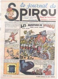 Cover Thumbnail for Le Journal de Spirou (Dupuis, 1938 series) #45/1939
