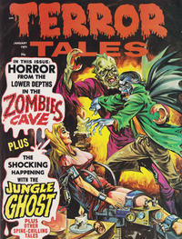 Cover for Terror Tales (Eerie Publications, 1969 series) #v3#1