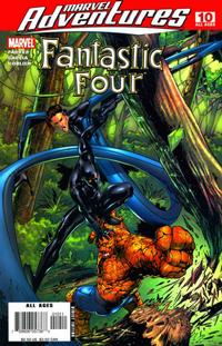 Cover Thumbnail for Marvel Adventures Fantastic Four (Marvel, 2005 series) #10