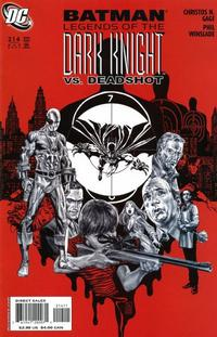 Cover Thumbnail for Batman: Legends of the Dark Knight (DC, 1992 series) #214
