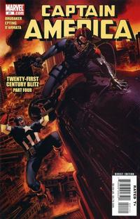 Cover Thumbnail for Captain America (Marvel, 2005 series) #21