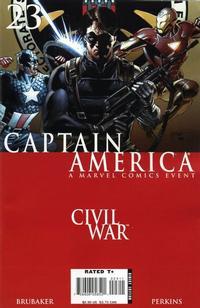 Cover Thumbnail for Captain America (Marvel, 2005 series) #23
