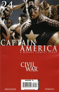 Cover Thumbnail for Captain America (Marvel, 2005 series) #24