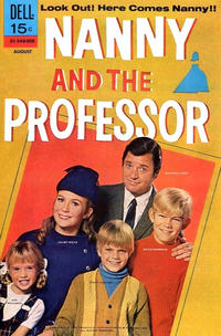 Cover Thumbnail for Nanny and the Professor (Dell, 1970 series) #1