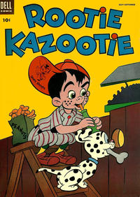Cover Thumbnail for Rootie Kazootie (Dell, 1954 series) #5