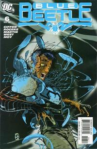 Cover Thumbnail for The Blue Beetle (DC, 2006 series) #6