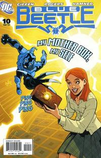 Cover Thumbnail for The Blue Beetle (DC, 2006 series) #10