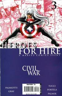 Cover Thumbnail for Heroes for Hire (Marvel, 2006 series) #3