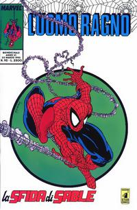 Cover Thumbnail for L'Uomo Ragno (Edizioni Star Comics, 1987 series) #92