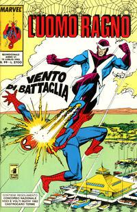 Cover Thumbnail for L'Uomo Ragno (Edizioni Star Comics, 1987 series) #99