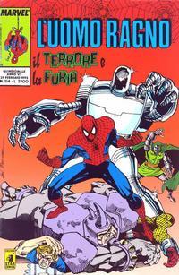 Cover Thumbnail for L'Uomo Ragno (Edizioni Star Comics, 1987 series) #114