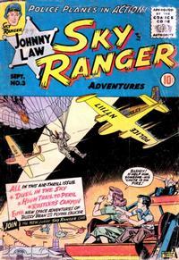 Cover Thumbnail for Johnny Law, Sky Ranger (Good Comics Inc. [1950s], 1955 series) #3