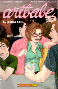 Cover for Artbabe (Fantagraphics, 1997 series) #1