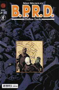 Cover Thumbnail for BPRD: Hollow Earth [B.P.R.D.: Hollow Earth] (Dark Horse, 2002 series) #2