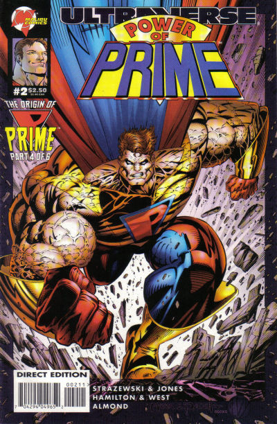 Cover for Power of Prime (Malibu, 1995 series) #2