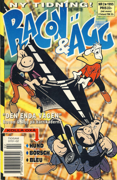Cover for Bacon & Ägg (Semic, 1995 series) #2/1995