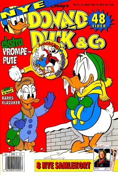 Cover for Donald Duck & Co (Hjemmet / Egmont, 1948 series) #12/1993