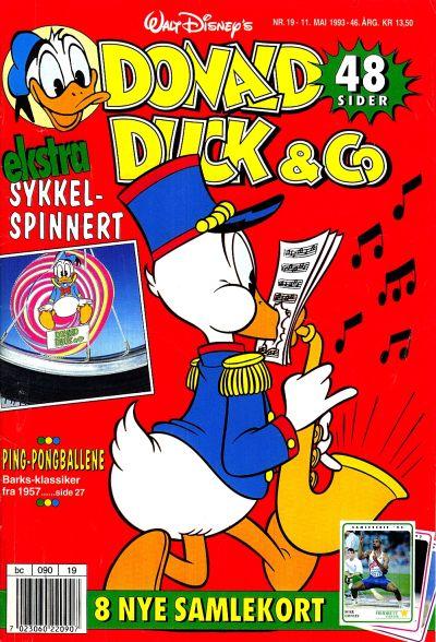 Cover for Donald Duck & Co (Hjemmet / Egmont, 1948 series) #19/1993