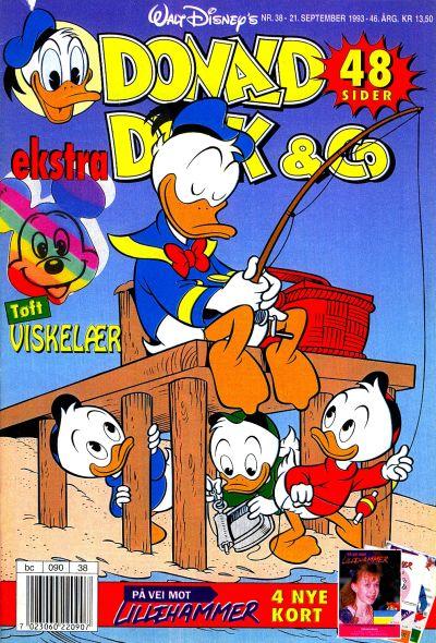 Cover for Donald Duck & Co (Hjemmet / Egmont, 1948 series) #38/1993