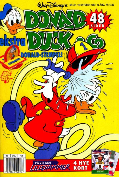 Cover for Donald Duck & Co (Hjemmet / Egmont, 1948 series) #42/1993