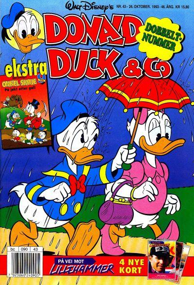 Cover for Donald Duck & Co (Hjemmet / Egmont, 1948 series) #43/1993
