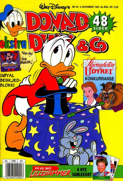 Cover for Donald Duck & Co (Hjemmet / Egmont, 1948 series) #44/1993