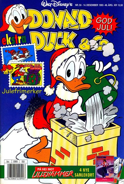 Cover for Donald Duck & Co (Hjemmet / Egmont, 1948 series) #50/1993
