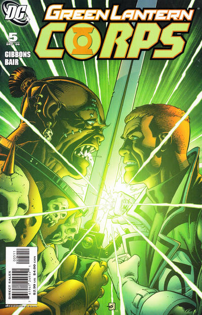 Cover for Green Lantern Corps (DC, 2006 series) #5