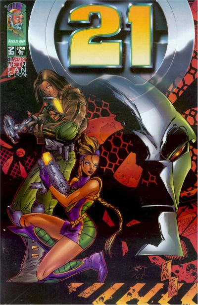 Cover for 21 (Image, 1996 series) #2