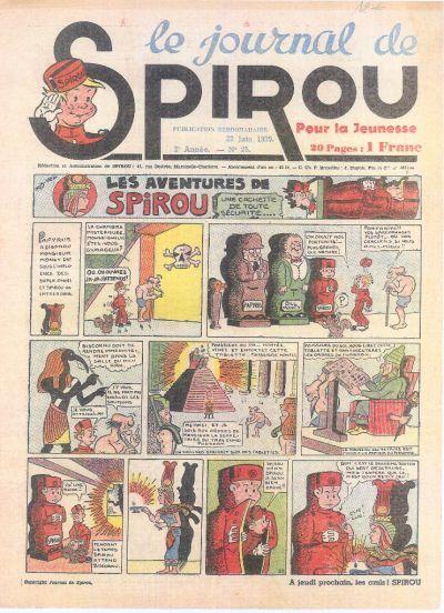 Cover for Le Journal de Spirou (Dupuis, 1938 series) #25/1939