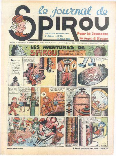 Cover for Le Journal de Spirou (Dupuis, 1938 series) #28/1939