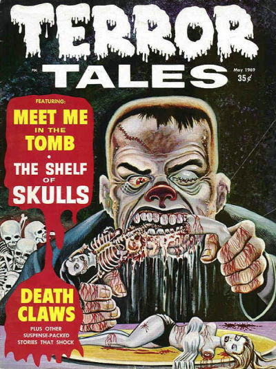 Cover for Terror Tales (Eerie Publications, 1969 series) #v1#8