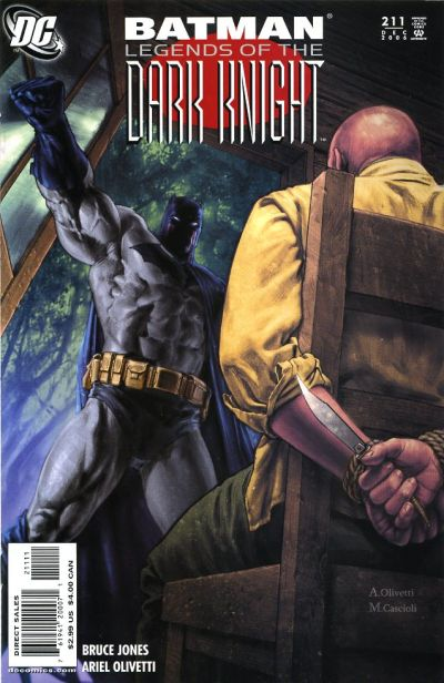 Cover for Batman: Legends of the Dark Knight (DC, 1992 series) #211