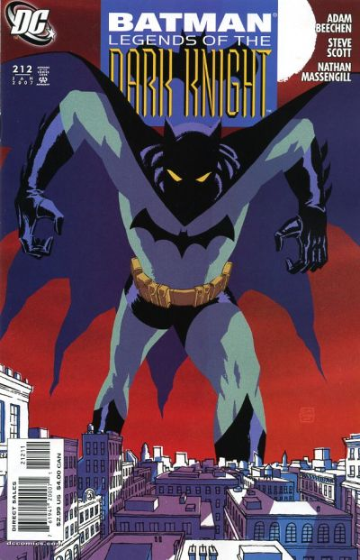 Cover for Batman: Legends of the Dark Knight (DC, 1992 series) #212