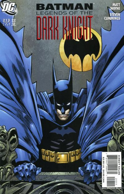 Cover for Batman: Legends of the Dark Knight (DC, 1992 series) #213