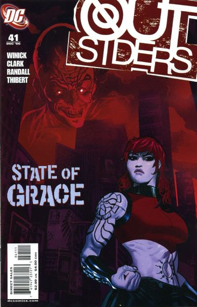Cover for Outsiders (DC, 2003 series) #41
