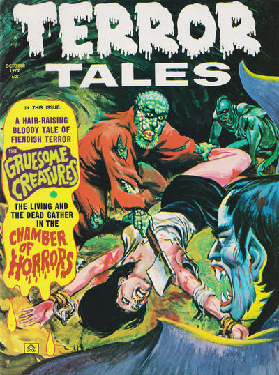 Cover for Terror Tales (Eerie Publications, 1969 series) #v4#6