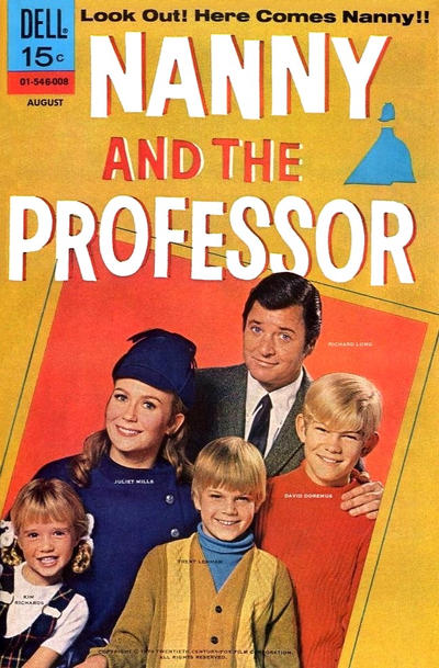Cover for Nanny and the Professor (Dell, 1970 series) #1