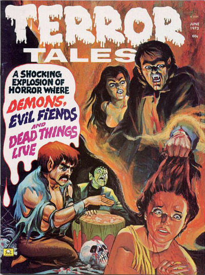 Cover for Terror Tales (Eerie Publications, 1969 series) #v5#3