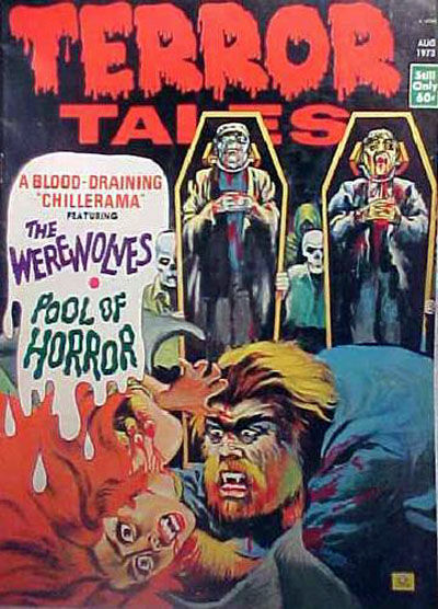Cover for Terror Tales (Eerie Publications, 1969 series) #v5#4