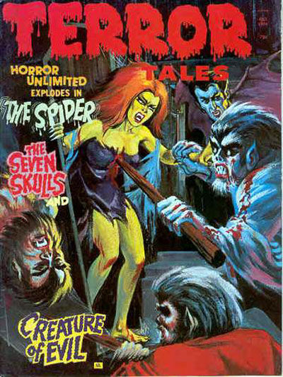 Cover for Terror Tales (Eerie Publications, 1969 series) #v6#5