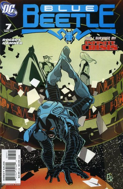 Cover for The Blue Beetle (DC, 2006 series) #7