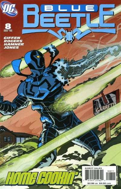 Cover for The Blue Beetle (DC, 2006 series) #8